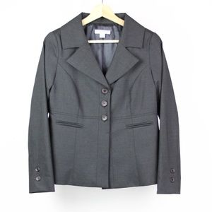Pendleton Womens Blazer Virgin Wool Size 10 Petite